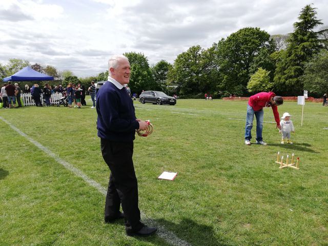 Chandler's Ford Boys' Brigade Band - Bandmaster Simon Farrenden trying to recruit new members