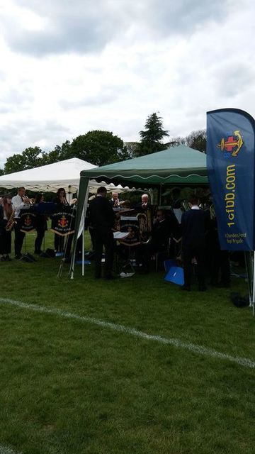 The music from the Boys Brigade was excellent
