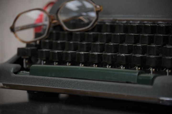 I don't miss typewriters either - I used an Olympia one and it weighed a ton - Pixabay