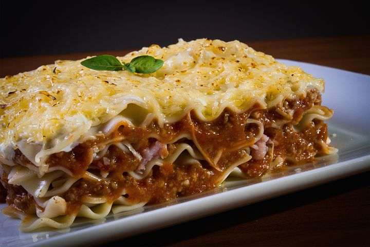 I love a good lasagne too and have many favourite food items -Pixabay