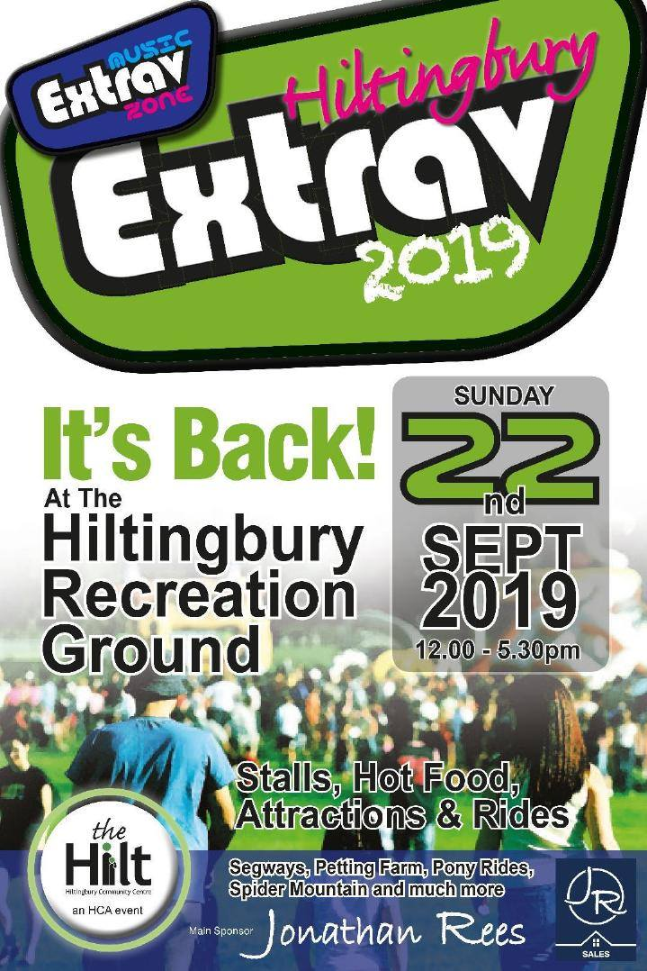 Hiltingbury Extravaganza - 22nd September from 12 noon