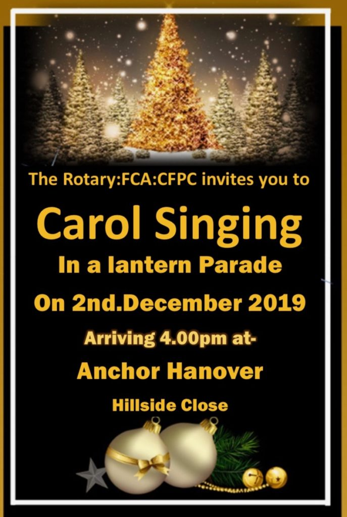 Lantern Parade 2 Dec 2019 Chandler's Ford