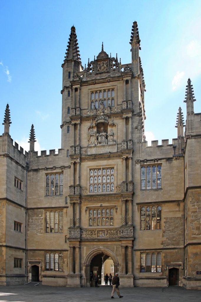 Bodleian Library. Pixabay