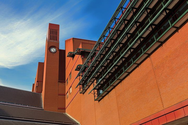 British Library. Pixabay