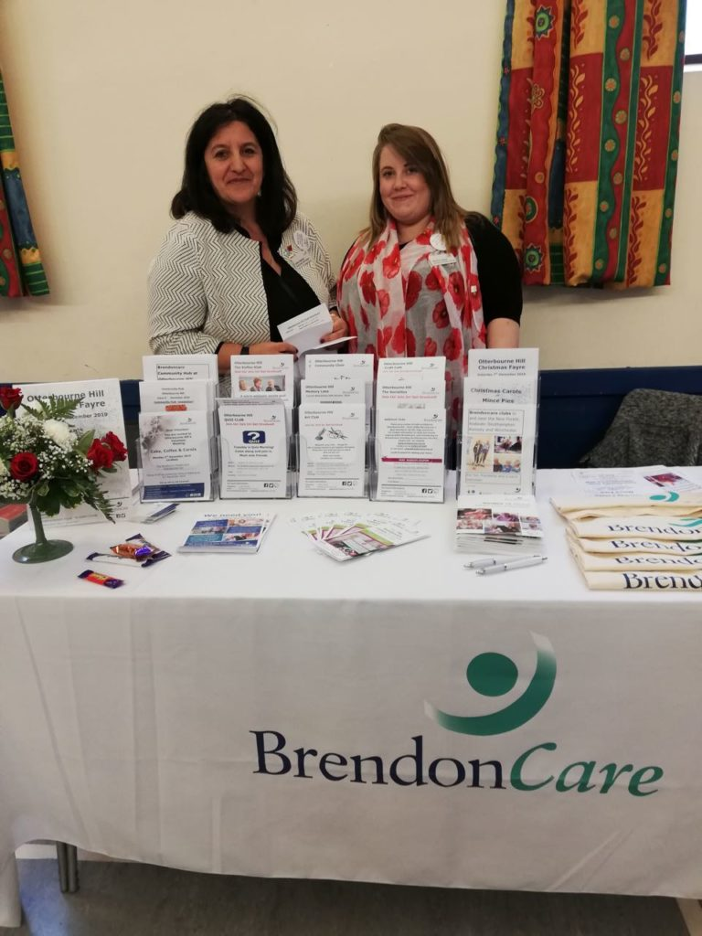 Brendon Care also had a stand sharing their services.