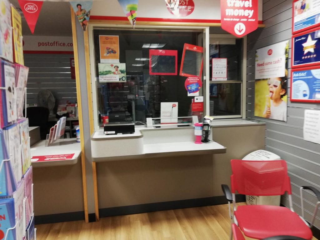 Post office re-opening