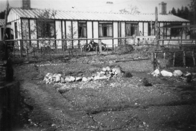 PHOTO 6 - Rear Garden of No. 42 Hook Road - late 1940s