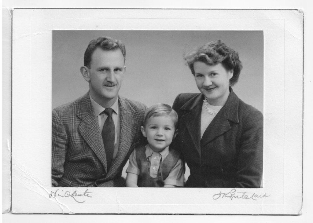 Jack, Peter, Ruth; Winchester, 1952-1