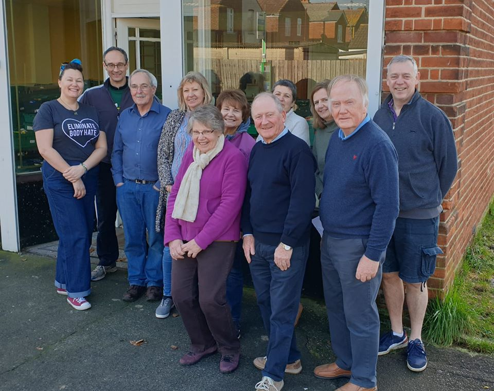 Eastleigh Basics Bank volunteers and supporters