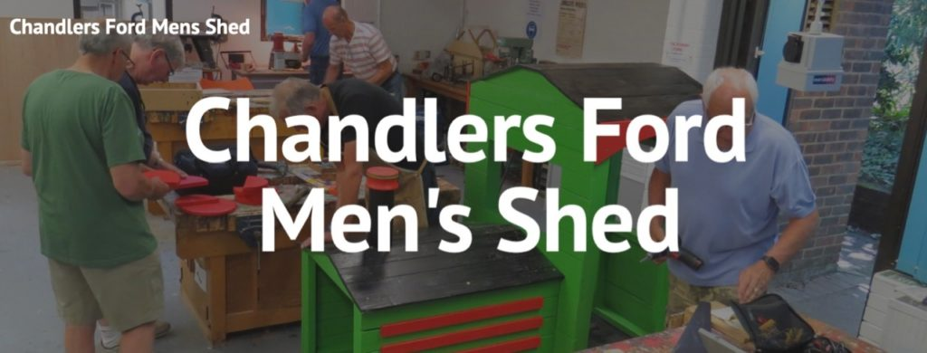 Chandler's Ford Men's Shed - Meet Every Friday from 1.30pm at Hexagon Centre, Suffolk Close, Chandler's Ford, SO53 3GZ