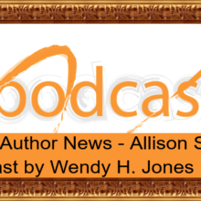 Feature Image - Local Author News - Allison Symes - Podcast by Wendy H Jones
