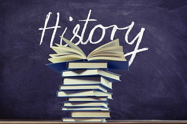History - not just facts but wonderful fiction can come from it too