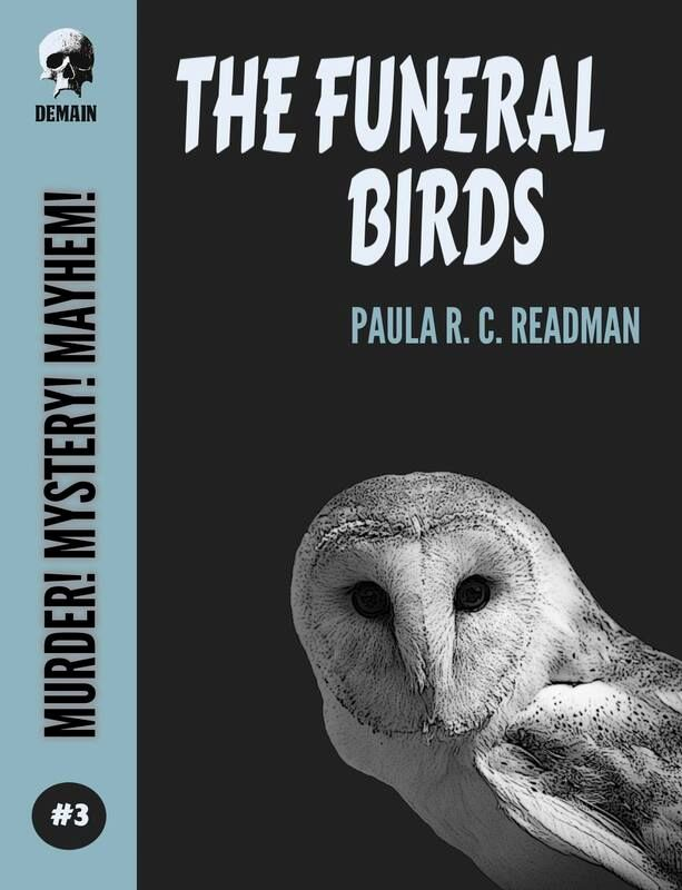 The Funeral Birds front cover. Image kindly supplied by Paula Readman