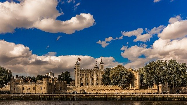 Tower of London. Pixabay