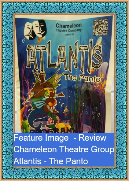 Feature Image - Atlantis - The Panto. Programme cover photo taken by Allison Symes-1