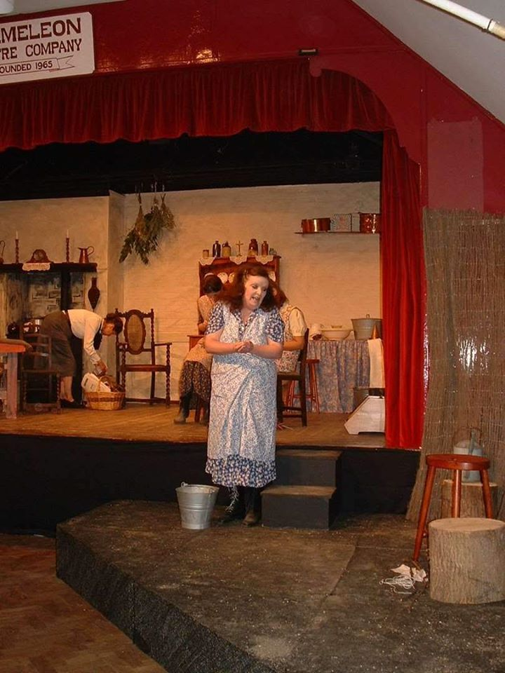 Maggie in the garden from Dancing at Lughnasa