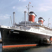 Photo: s.s. 'America' from a United States Lines Brochure