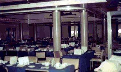 The Children's (Atlantic) Dining Room on 'A' Deck. Photo- Courtesy Chandris Lines