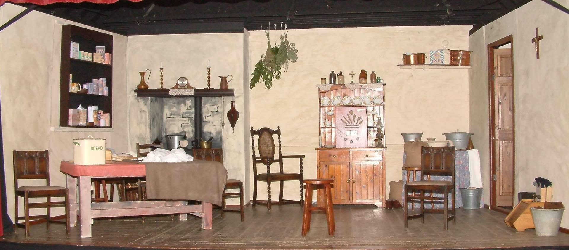 The stage as set for Dancing at Lughnasa