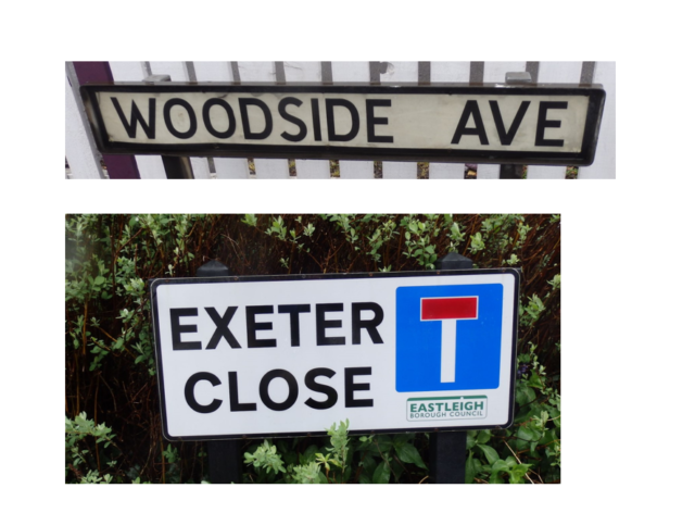 street name we