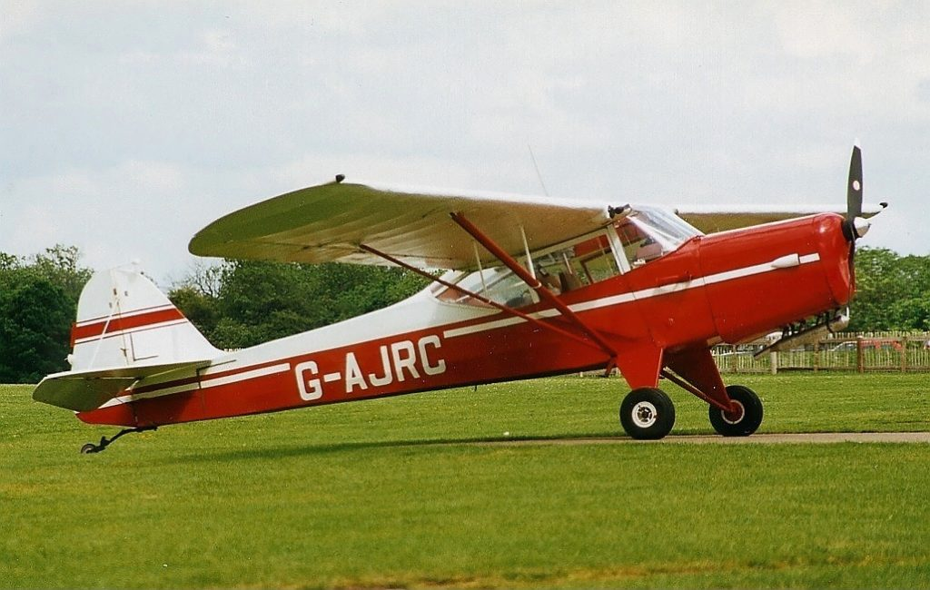 An Auster Autocrat at Sywell in 1991 - Attribute Alan DR Brown