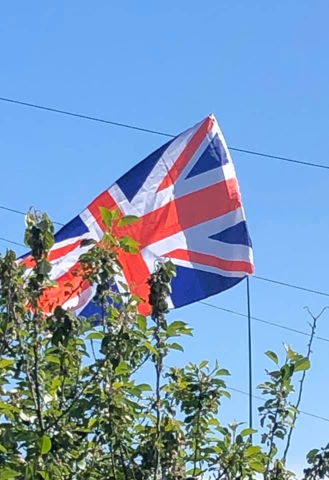 British flag - image by Jill Mayes