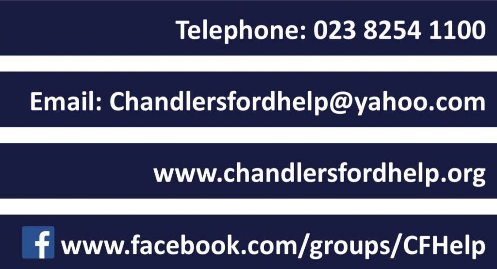 Chandler's Ford Help new contact details