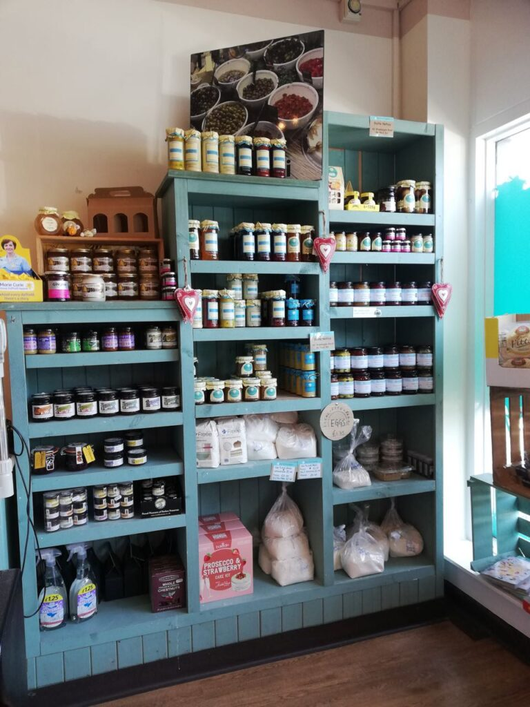 Bay Leaves Larder has a huge variety of items.