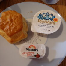 Scone Jam Cream