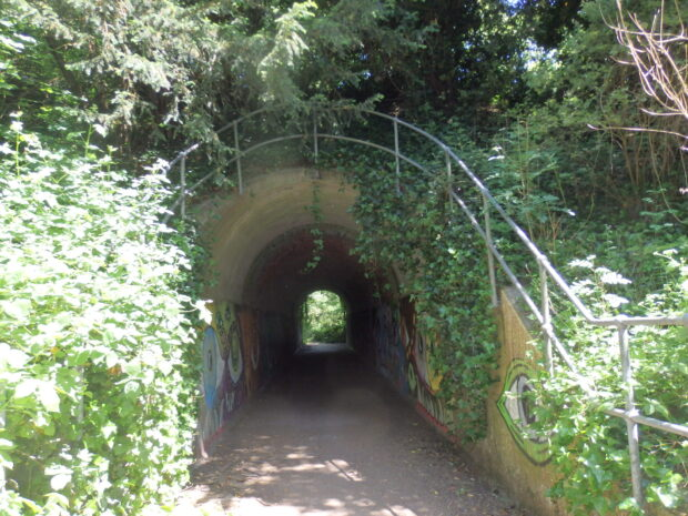 Former railway tunnel