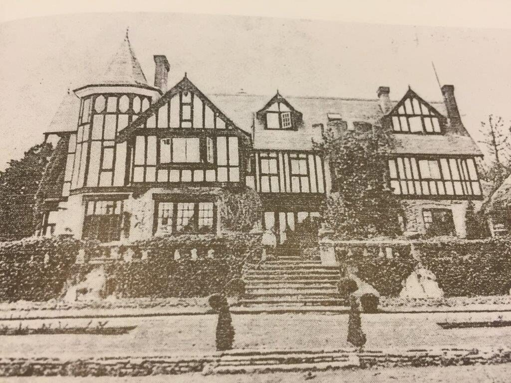Merdon House - from a photograph in Barbara Hillier's book