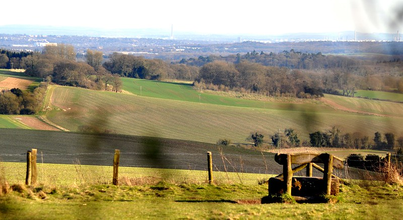 View from Farley Mount by Simon Bramwell; image via Flickr.