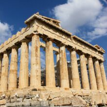 Parthenon - image by timeflies1955 via Pixabay