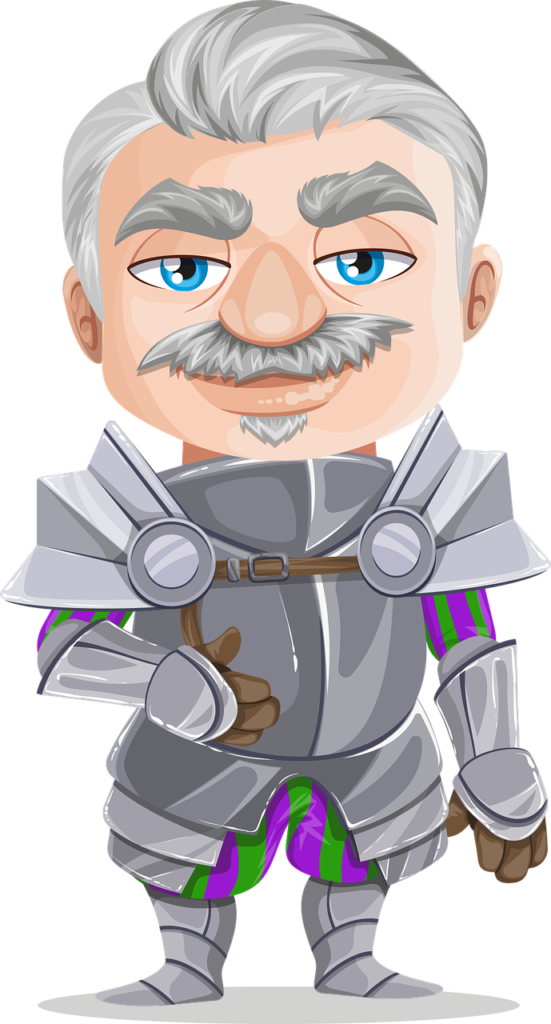 Knight by GraphicMama-team via Pixabay
