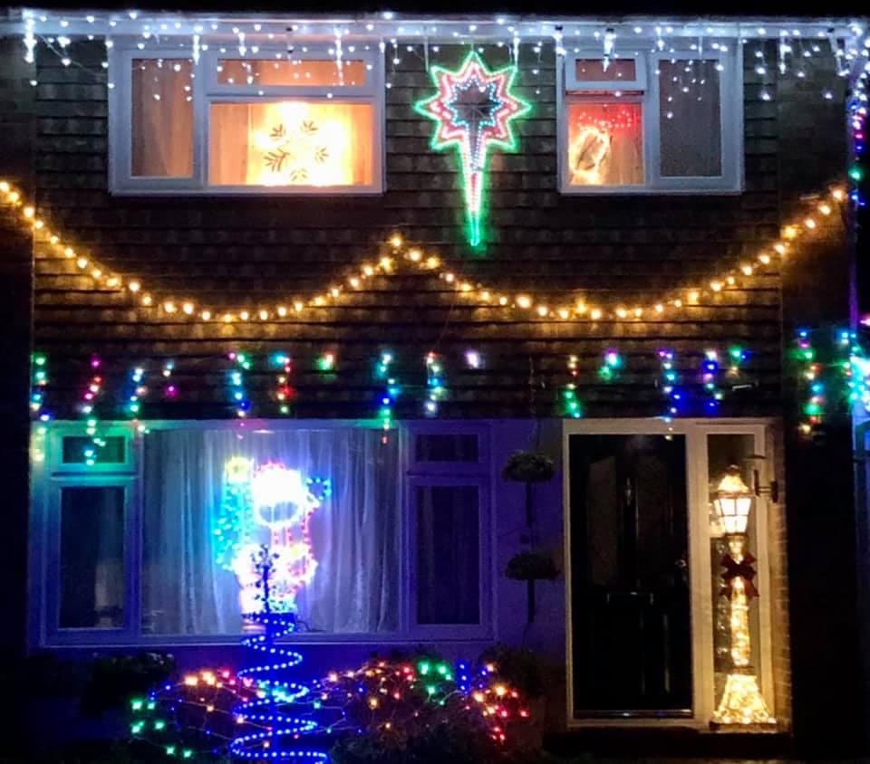 Chalvington Road, Chandler's Ford, Christmas 2020
