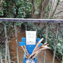Pooh's sticks in Chandler's Ford