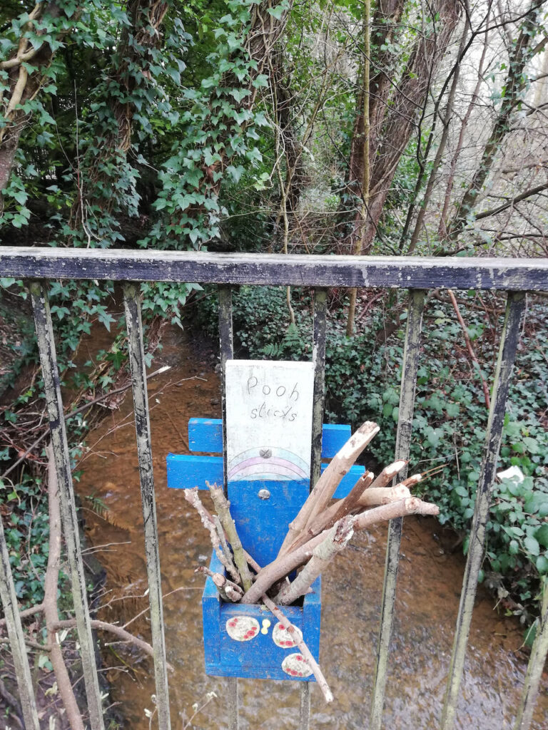 Pooh sticks in Chandler's Ford