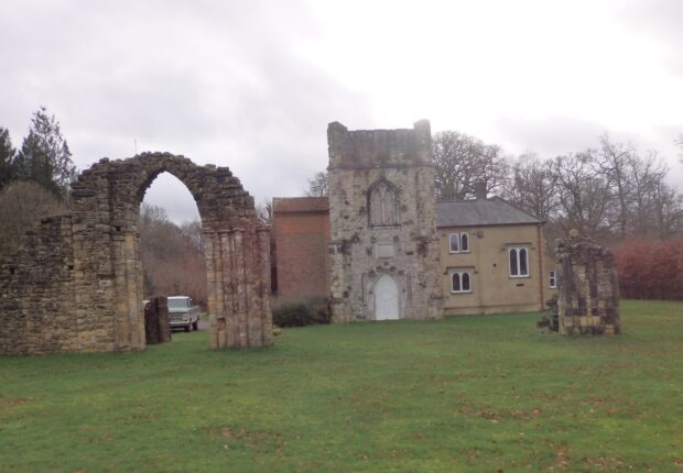 Folly - remains of Netley Abbey