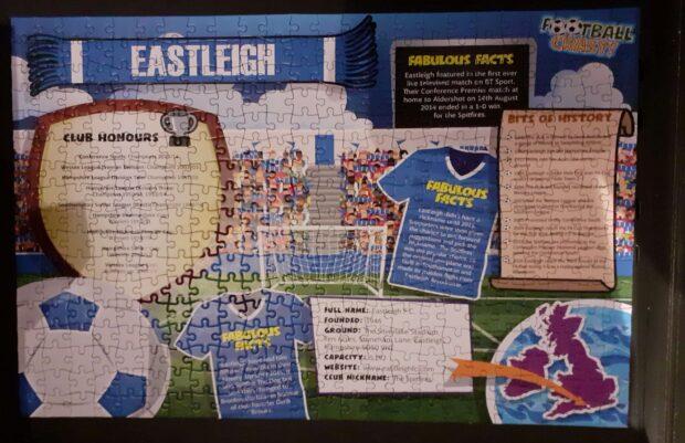 complete jigsaw - Eastleigh FC