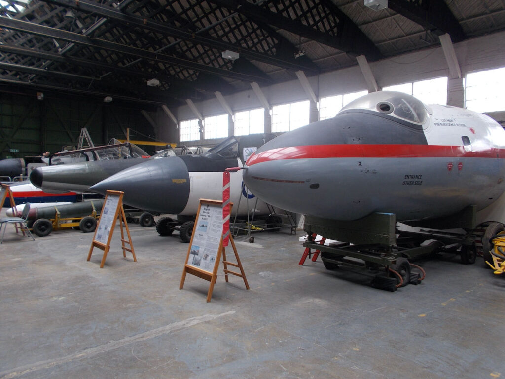 Boscombe Down Aviation Collection at Old Sarum, just outside Salisbury.