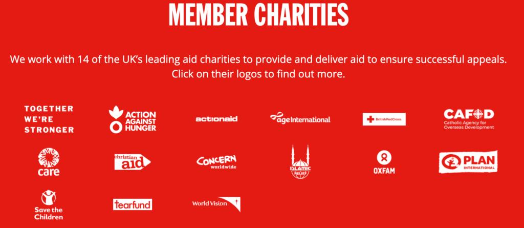 DEC Member Charities