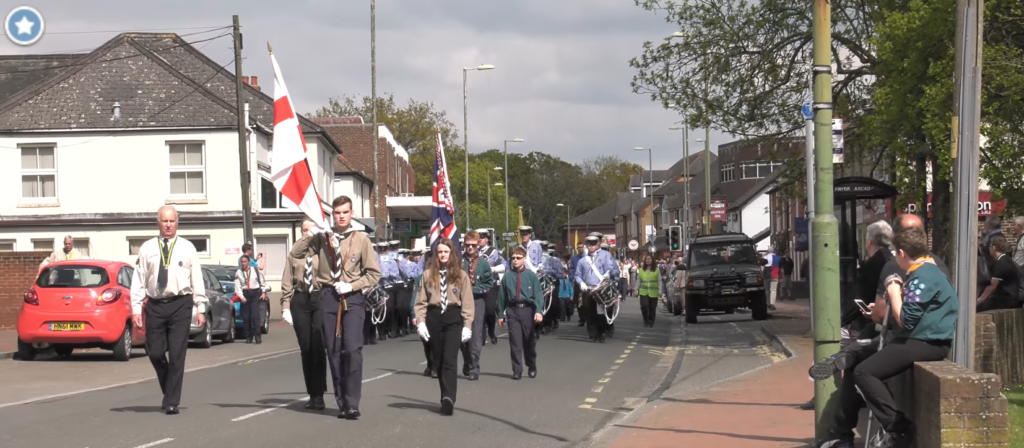 14th Eastleigh Scout and Guide Band - St George's Day 2017