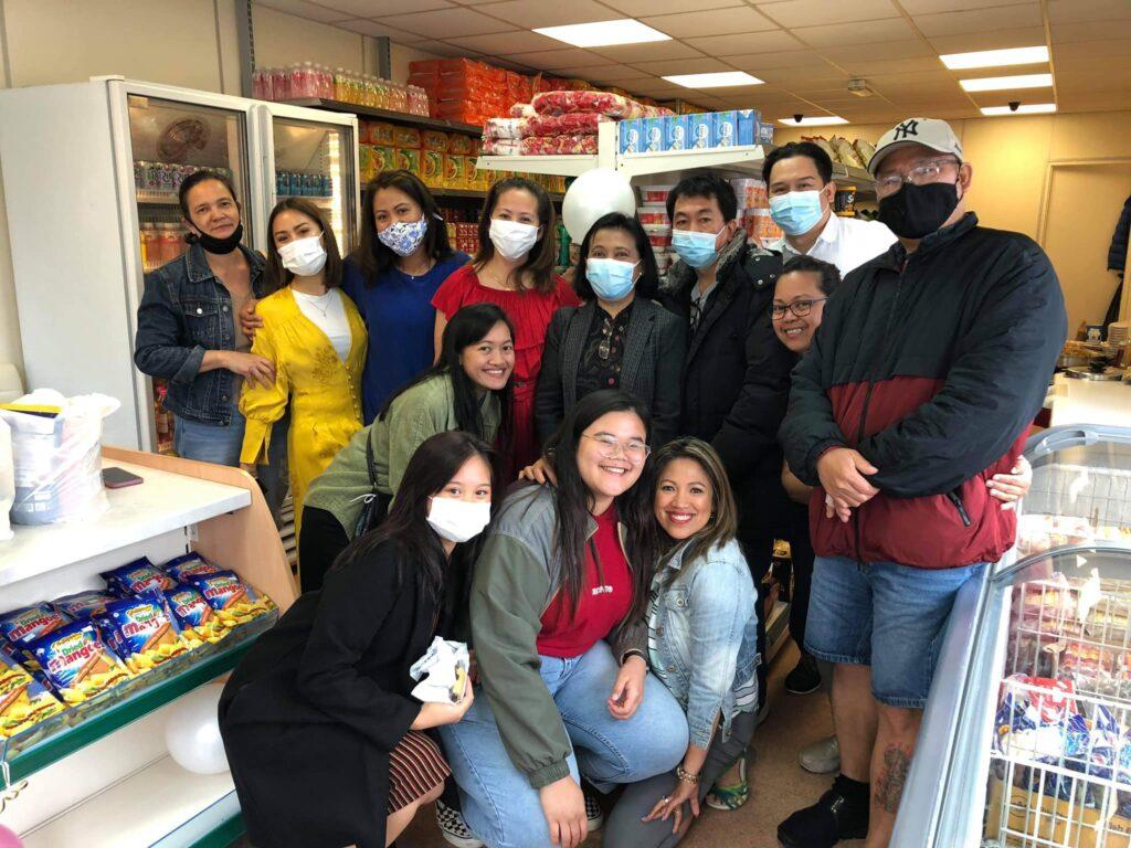 Opening Day of Suki Asian Shop