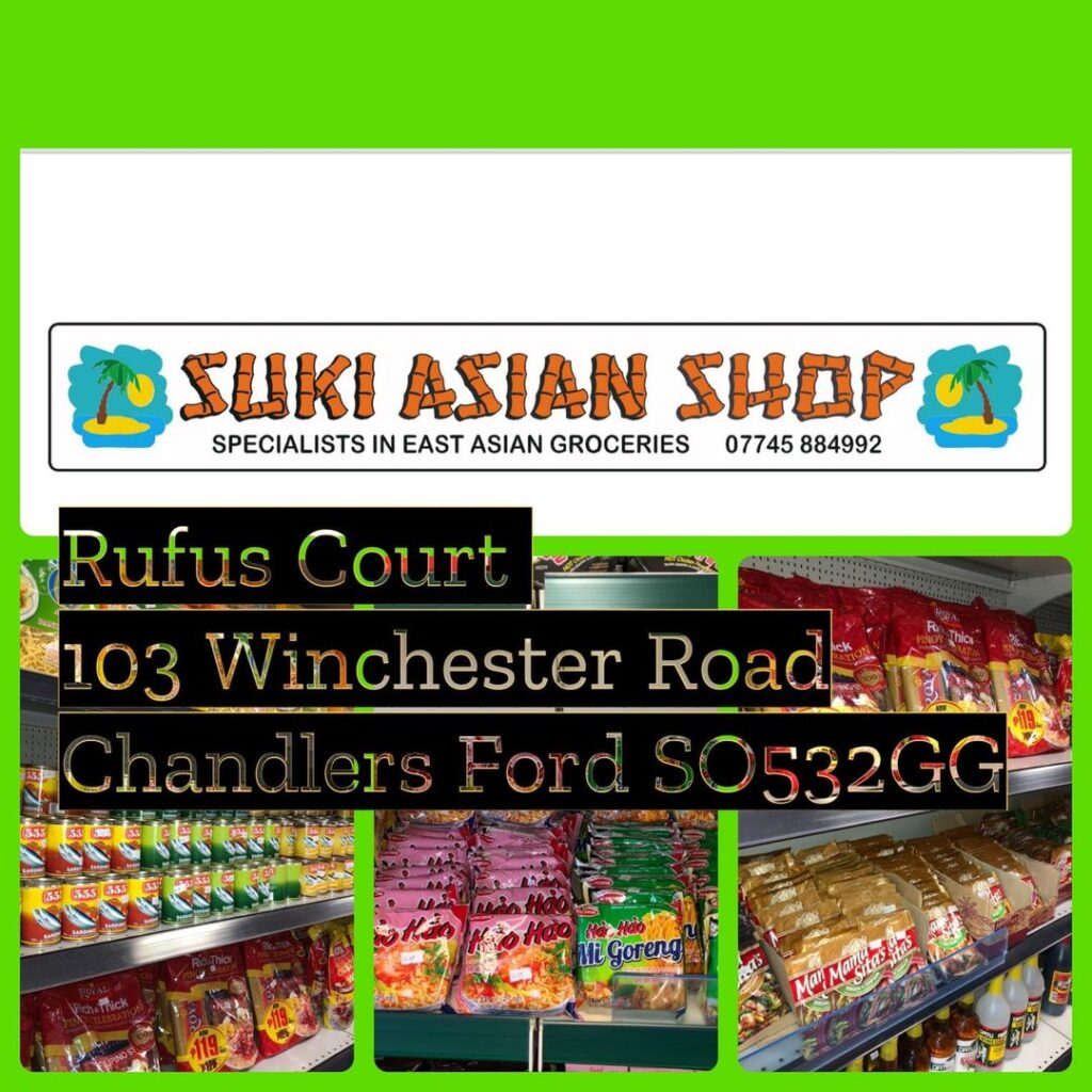 Suki Asian Store, Winchester Road, Chandler's Ford.