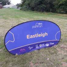 eastleigh parkrun sign