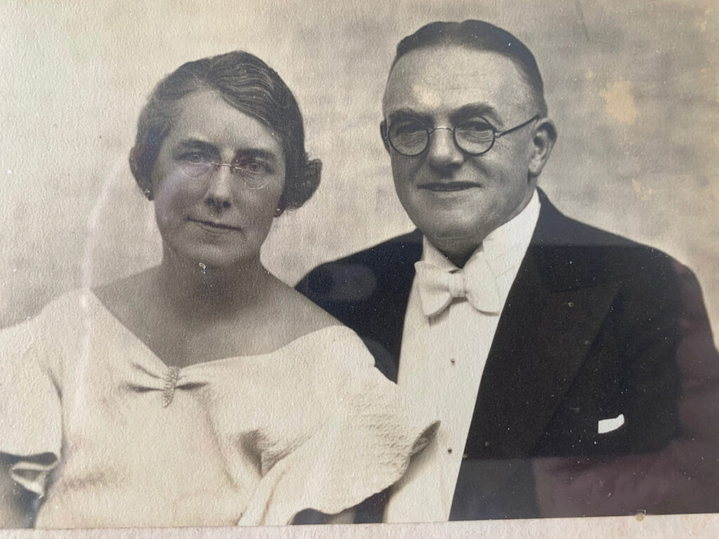 My Granny and Grandpa Miller - by Andy Vining