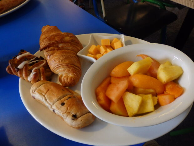 The continental breakfast – for those with a lighter appetite