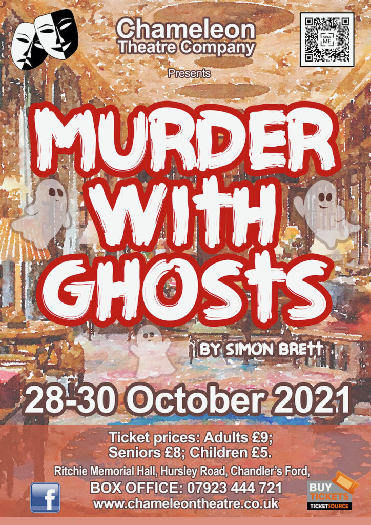 Murder with Ghost poster