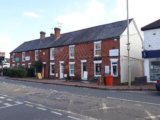 As well as King's Court and its lodge, at Pine Hill Clump (top of Brownhill Road) there is the terrace of Fernhill Cottages (image) and the Halfway Inn on the right.